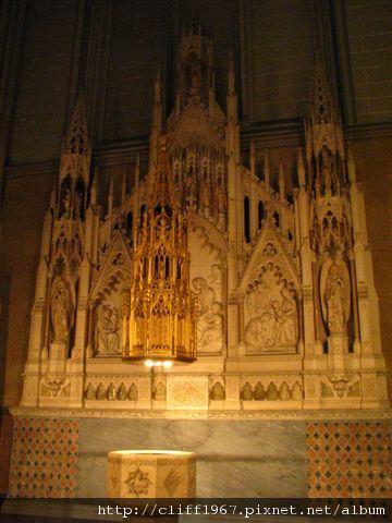 聖派翠克大主教教堂--哥德式祭台