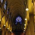 聖派翠克大主教教堂--玫瑰窗