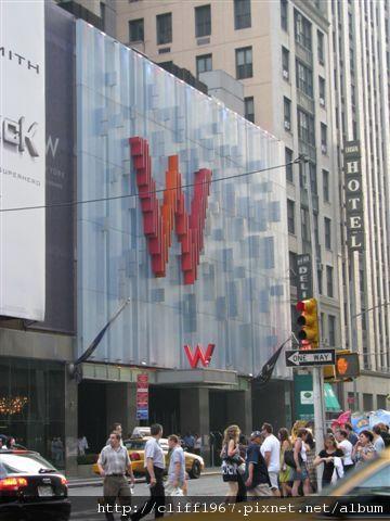 紐約W HOTEL