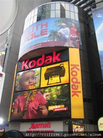 時代廣場廣告看板
