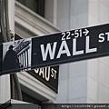 華爾街路牌