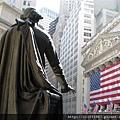 華盛頓雕像與紐約證交所