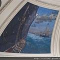 海關大樓內部天棚壁畫