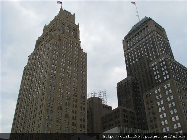 紐華克市區的大樓