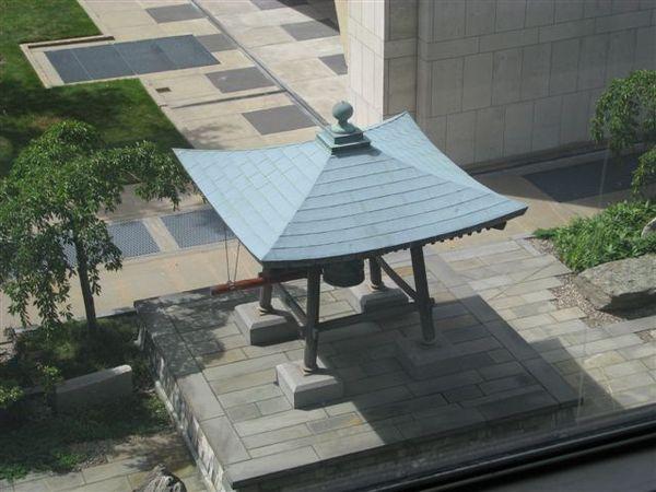 日本送給聯合國的和平鐘