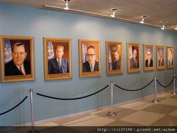 歷任聯合國秘書長