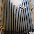 巨大的管風琴音管