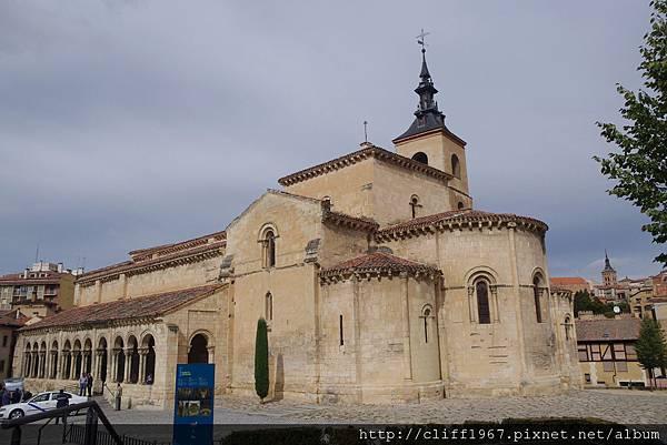 聖米耶SAN MILLAN教堂