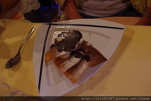飯後甜點--薄片餅乾