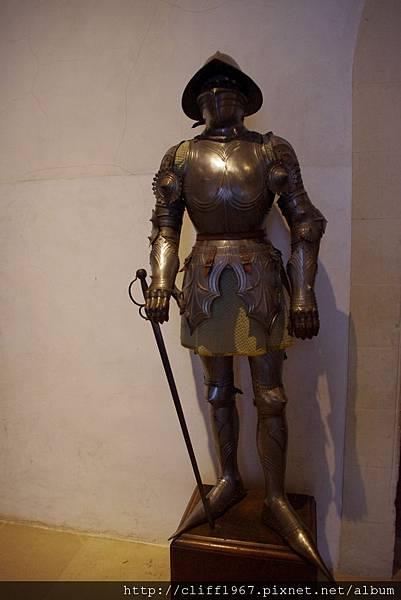 塞哥維亞城堡ALCÁZAR--鐵甲武士