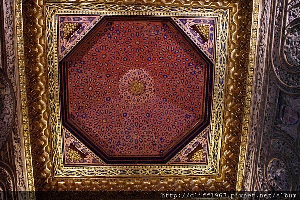 塞哥維亞城堡ALCÁZAR--穹頂的幕迪哈藝術