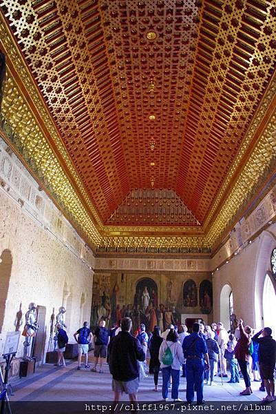 塞哥維亞城堡ALCÁZAR--金碧輝煌的穹頂