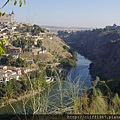 由太浩TAJO河對岸遠眺托雷多市區