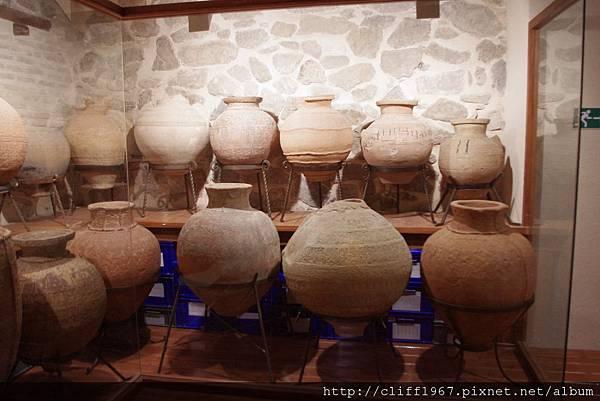 聖十字博物館--館藏陶甕
