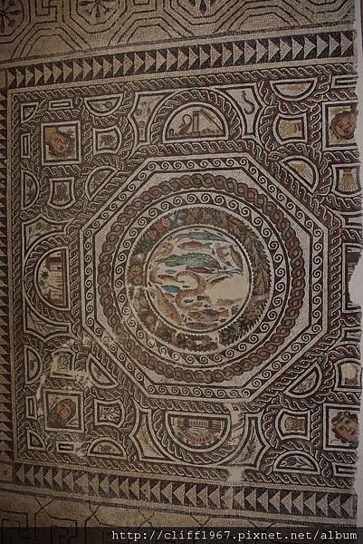 聖十字博物館--馬賽克鑲嵌畫