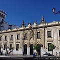 Avenida de la Constitución上的郵政總局