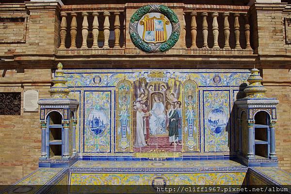 西班牙廣場/Baleares磁磚畫