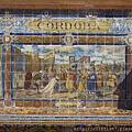 西班牙廣場--哥多華磁磚畫