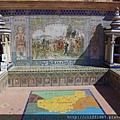 西班牙廣場--格瑞那達磁磚畫