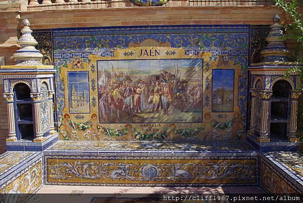 西班牙廣場--哈恩磁磚畫