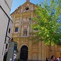 舊猶太人街小巷內的不知名教堂