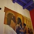 tapas餐廳牆上的裝飾