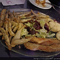 炸魚及海鮮盤