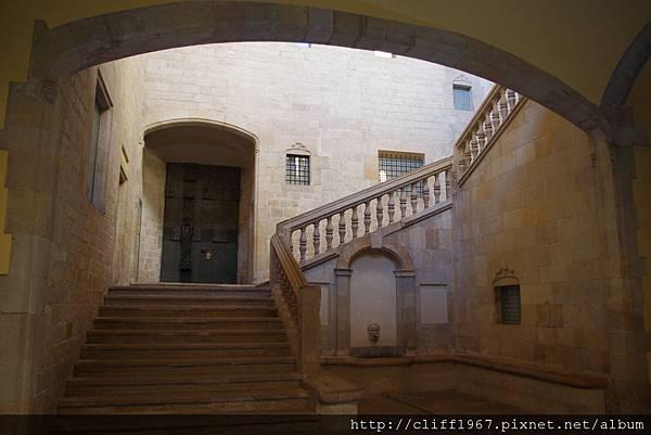 巴塞隆納王宮的一部分