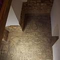 大清真寺內部分殘留的古羅馬馬賽克地磚