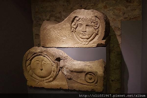 巴塞隆納市立歷史博物館--館藏石刻