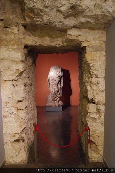 巴塞隆納市立歷史博物館--古羅馬雕像