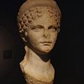 巴塞隆納市立歷史博物館--館藏古羅馬婦人頭像