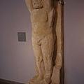 巴塞隆納市立歷史博物館--館藏古羅馬人形立柱