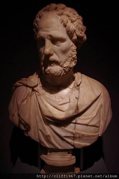 巴塞隆納市立歷史博物館館藏--古羅馬頭像