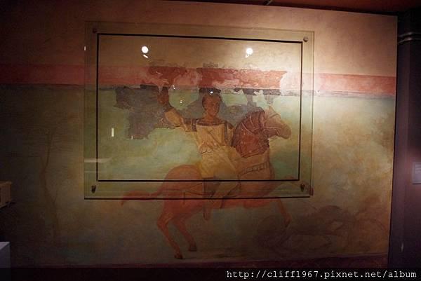 巴塞隆納市立歷史博物館館藏--古羅馬濕壁畫