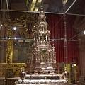 阿維拉大主教教堂--銀製聖體台