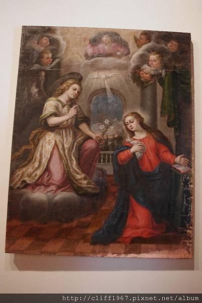 聖十字博物館館藏畫作--告知受孕