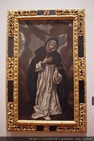 EL GRECO畫作--聖方濟