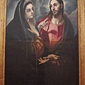 EL GRECO畫作--耶穌與聖母