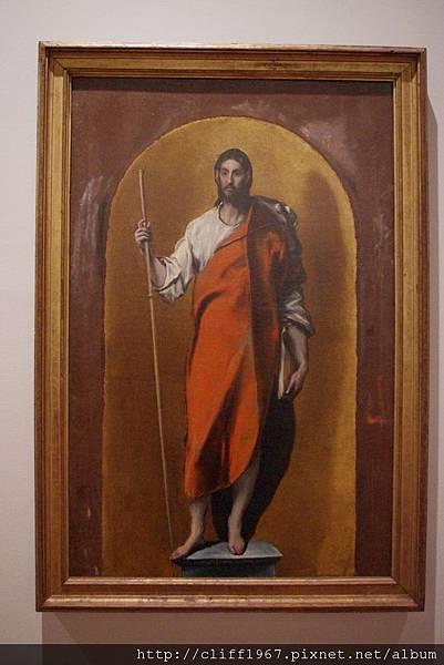 EL GRECO畫作--聖地牙哥朝聖者