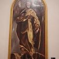 EL GRECO畫作--聖彼得