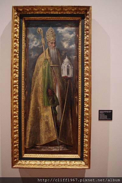 EL GRECO畫作--四大教父之聖多明尼克