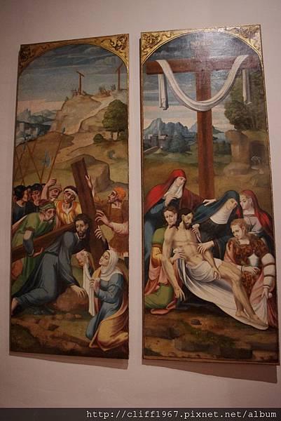 苦路與維洛妮卡//耶穌降架
