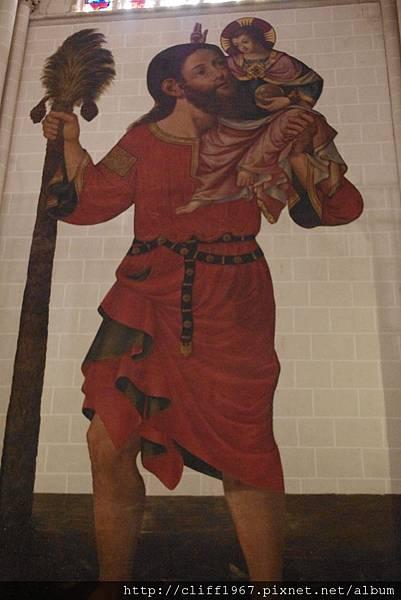 聖克里斯多福(旅行的守護聖者)