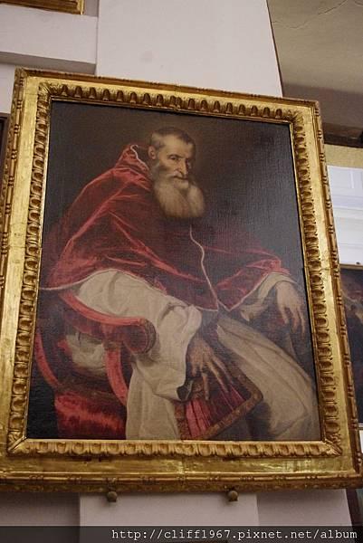 范戴克複製提香的畫作--教宗保羅三世