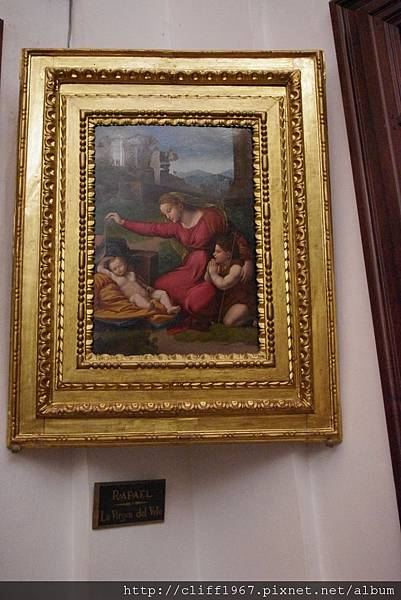 拉斐爾--聖母與聖嬰及施洗者約翰