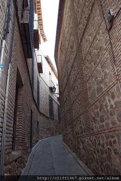 石砌的街道與牆面