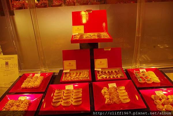聖多梅糕餅店最聞名的杏仁糕甜點
