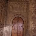 聖地牙哥阿拉巴爾教堂的穆迪哈風格拱門
