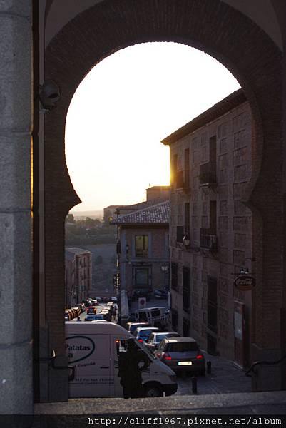 摩爾人城門的日出